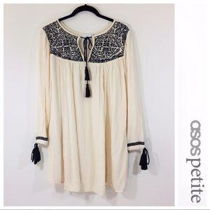 ASOS Petite Boho Aztec Tribal Dress SZ 2